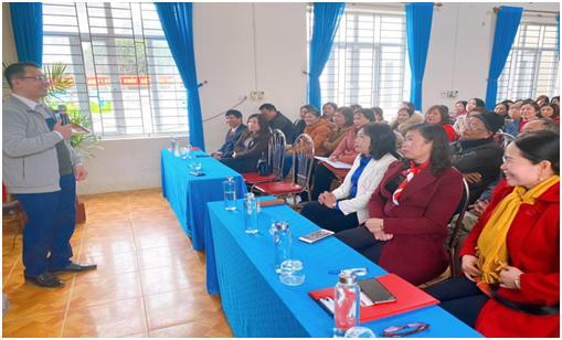Trường Tiểu học Lê Hồng Phong, thành phố Tam Điệp tổ chức Chuyên đề