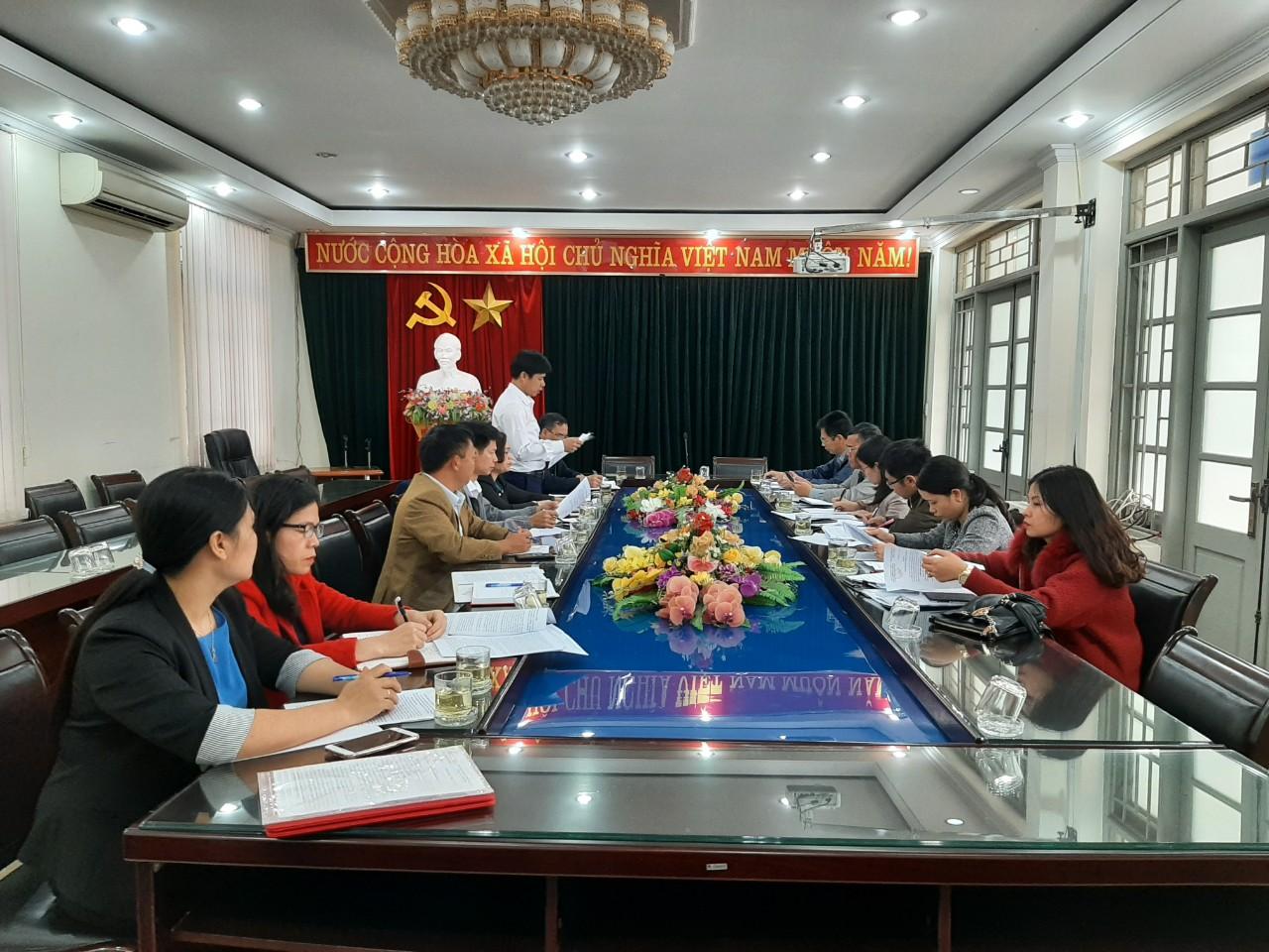Sở Văn hóa và Thể thao tỉnh kiểm tra công tác văn hóa, thể thao và gia đình năm 2020 tại thành phố Tam Điệp.