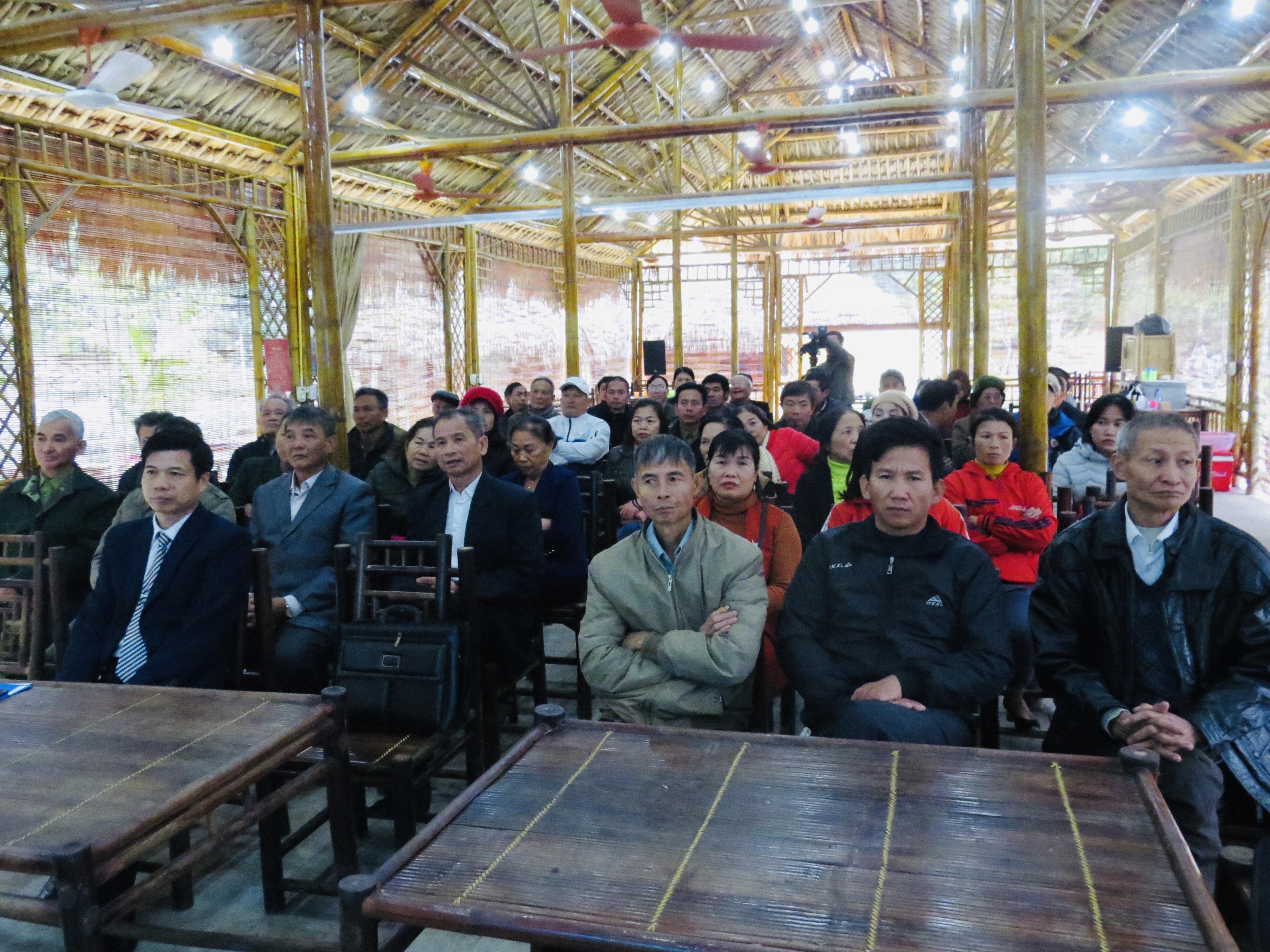 Hội nghị tập huấn kỹ năng làm Du lịch cộng đồng và sản xuất các sản phẩm nông nghiệp gắn với phát triển du lịch