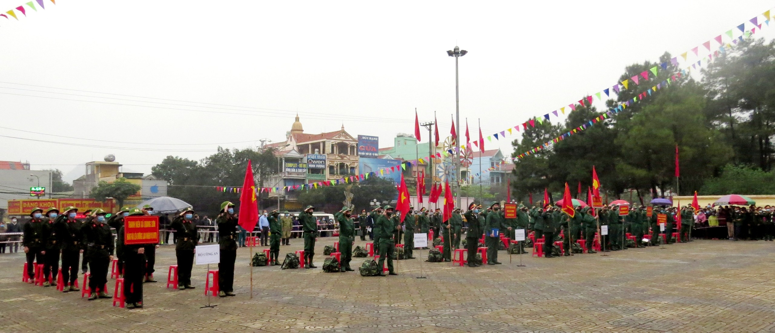 Lễ giao nhận quân năm 2021