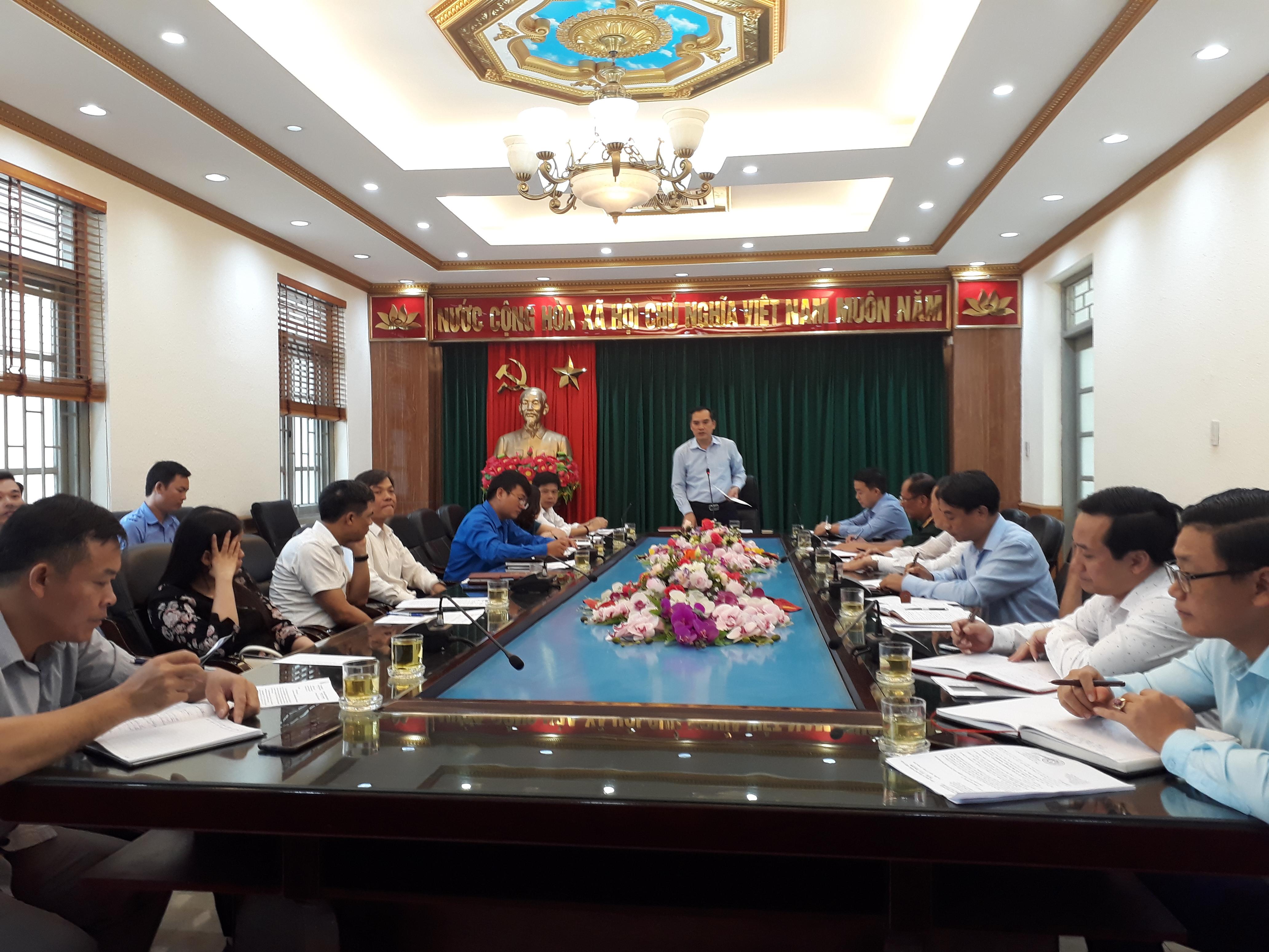 Hội nghị triển khai các hoạt động văn nghệ, thể dục thể thao chào mừng Đại hội Đảng bộ tỉnh Ninh Bình lần thứ XXII, nhiệm kỳ 2020 - 2025.