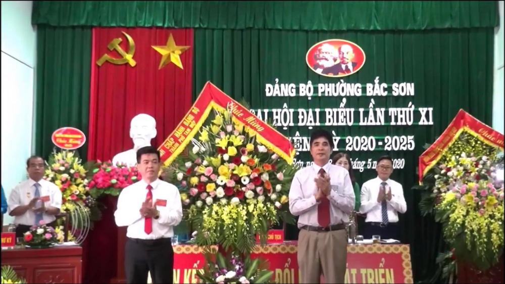 Đại hội đại biểu Đảng bộ phường Bắc Sơn lần thứ XI nhiệm kỳ 2020-2025