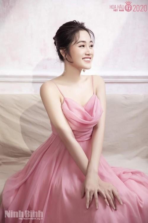 Người đẹp Hoa Lư Nguyễn Thùy Trang vào Bán kết Hoa hậu Việt Nam 2020