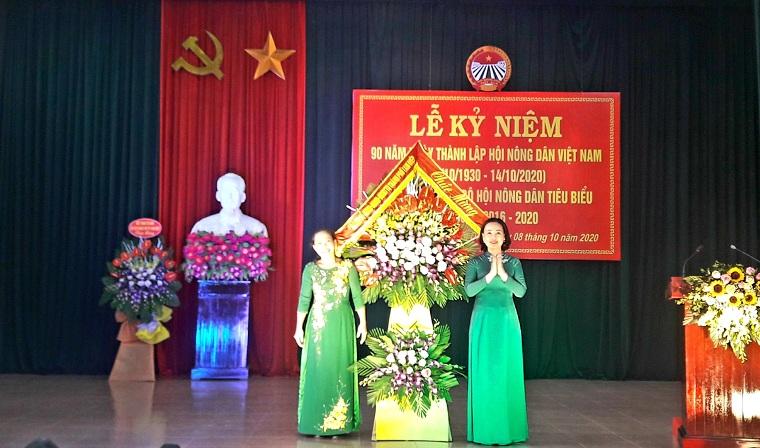 Lễ kỷ niệm 90 năm ngày thành lập Hội Nông dân Việt Nam và biểu dương cán bộ Hội Nông dân tiêu biểu, giai đoạn 2016 – 2020